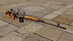 Rifle de sniper Dragunov de STALKER