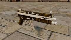 A pistola-metralhadora MP5 triturador de cabeça