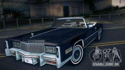Cadillac Eldorado 1978 Convertible para GTA San Andreas