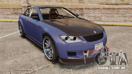 GTA V Sentinel XS Street Tuned Edit para GTA 4