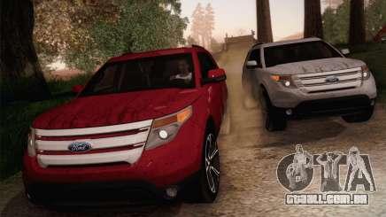 Ford Explorer 2013 para GTA San Andreas