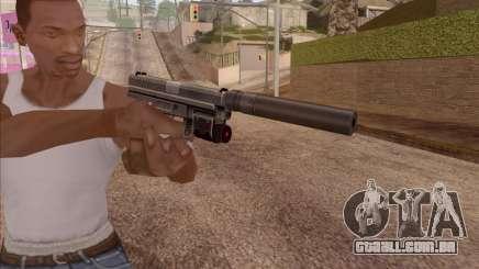 Pistola com silenciador para GTA San Andreas