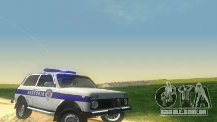 Lada Niva Patrola para GTA San Andreas