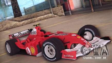 Ferrari F1 2005 para GTA San Andreas
