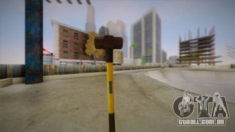 Sledge Hammer para GTA San Andreas segunda tela