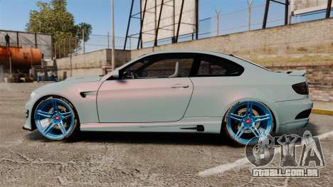 BMW M3 GTS Widebody para GTA 4 esquerda vista