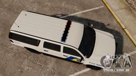 GTA V Declasse Police Ranger LCPD [ELS] para GTA 4 vista direita