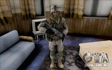 Quinton Cole para GTA San Andreas segunda tela