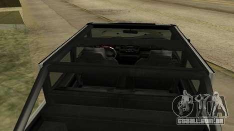 Crusader GTA 5 para GTA San Andreas vista traseira
