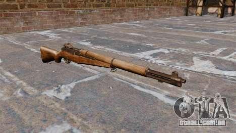 Autocarregáveis rifle M1 Garand v 1.1 para GTA 4