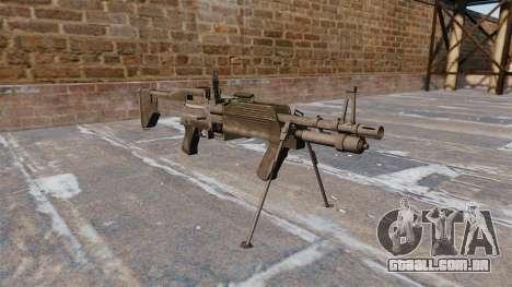 Metralhadora de uso geral M60E4 para GTA 4