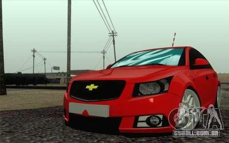 Chevrolet Cruze para GTA San Andreas
