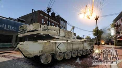 Script tanque V estilo para GTA 4 por diante tela
