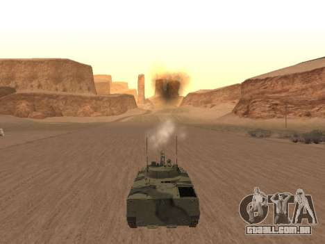 BMP-3 para GTA San Andreas vista direita