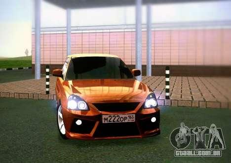 VAZ-2172 Coupe Sport para GTA San Andreas traseira esquerda vista