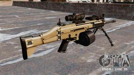 Máquina de assalto FN SCAR-L C-Mag para GTA 4 segundo screenshot