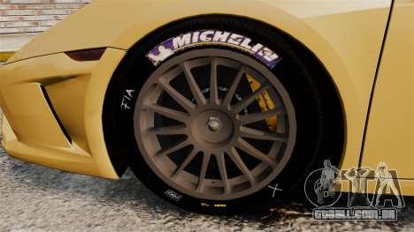 Lamborghini Gallardo 2013 v2.0 para GTA 4 vista de volta