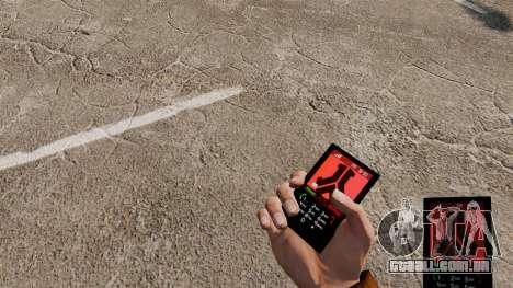 O tema para o telefone Defqon para GTA 4