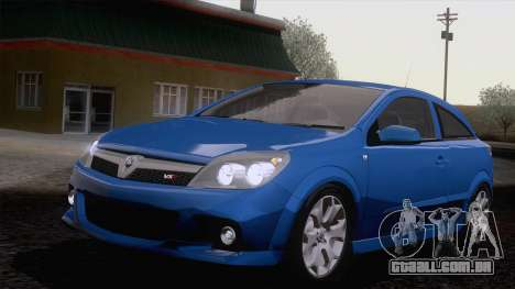 Vauxhall Astra VXR  2007 para GTA San Andreas vista traseira