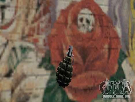Romã de STALKER para GTA San Andreas