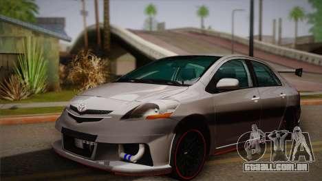 Toyota Vios Slalom Edition para GTA San Andreas