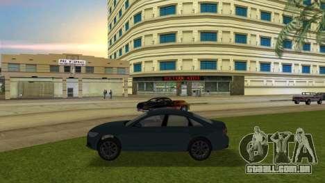 Audi A6 2012 para GTA Vice City deixou vista