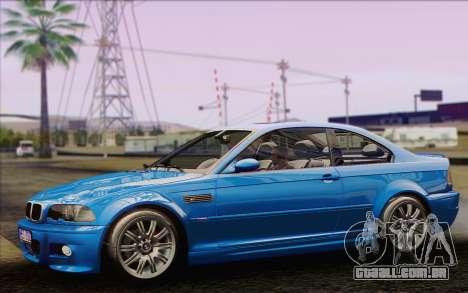 BMW M3 E46 2005 para GTA San Andreas