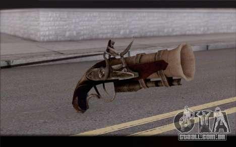 Bacamarte pirata para GTA San Andreas