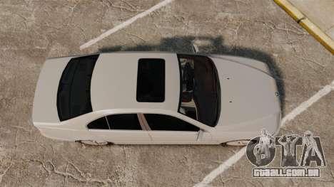 BMW 525i (E39) para GTA 4 vista direita