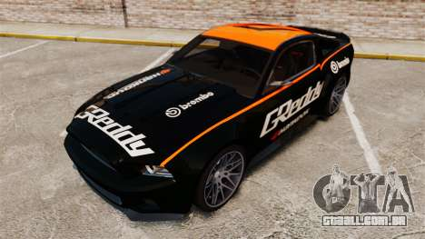 Ford Mustang GT 2013 NFS Edition para GTA 4 interior