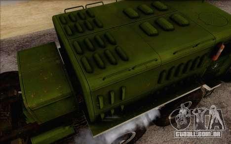 MAZ 535 novo para GTA San Andreas vista direita