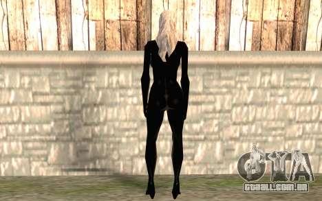 Gato preto HD para GTA San Andreas segunda tela