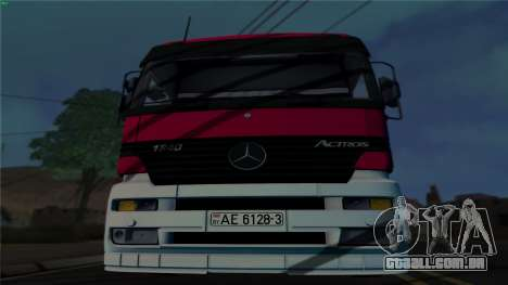 Mercedes-Benz 1840 para GTA San Andreas esquerda vista