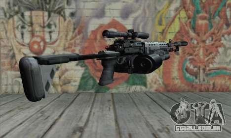 MK14 para GTA San Andreas segunda tela