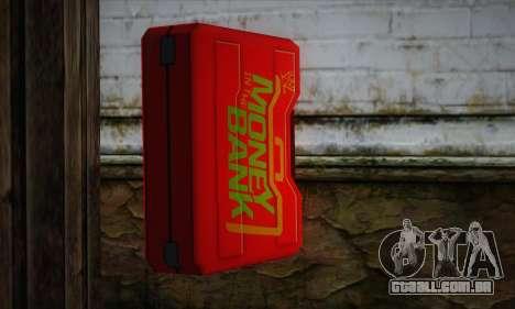 Caixa vermelha para GTA San Andreas segunda tela