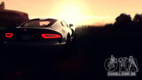 Sonic Unbelievable Shader v7.1 (ENB Series) para GTA San Andreas segunda tela