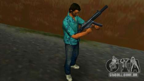 MP5SD para GTA Vice City por diante tela