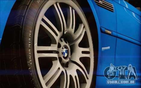 BMW M3 E46 2005 para GTA San Andreas vista traseira