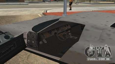 Monroe de GTA 5 para GTA San Andreas esquerda vista