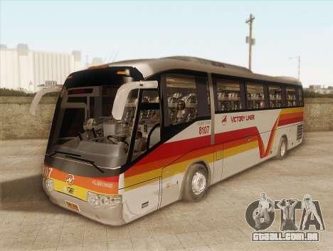 Higer KLQ6129QE - Victory Liner 8107 para GTA San Andreas