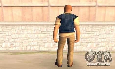 Jimmy Hopkins para GTA San Andreas segunda tela