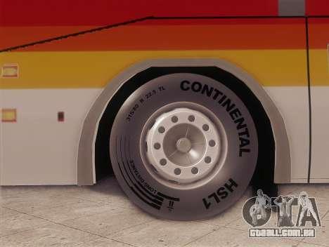 Higer KLQ6129QE - Victory Liner 8107 para GTA San Andreas traseira esquerda vista