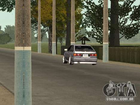 Toyota Corolla GTS Drift Edition para GTA San Andreas vista traseira