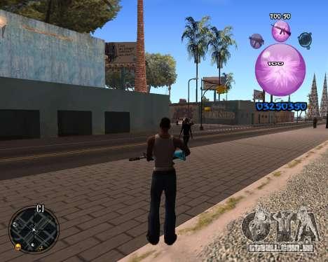 C-HUD Dony Scofield para GTA San Andreas