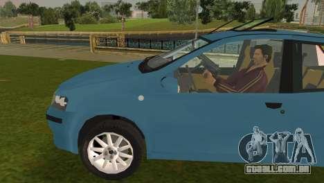 Fiat Punto II para GTA Vice City deixou vista