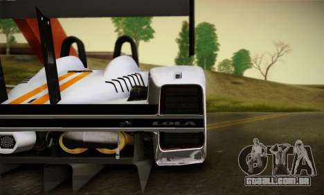Caterham-Lola SP300.R para GTA San Andreas vista direita