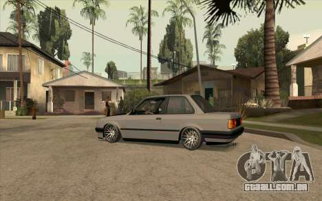 BMW E30 Stance para GTA San Andreas esquerda vista