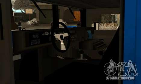 HUMMER H1 para GTA San Andreas vista direita