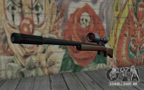 Sniper Rifle HD para GTA San Andreas