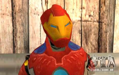 Iron Man para GTA San Andreas terceira tela